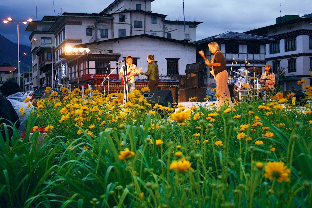 Music Band Flowers