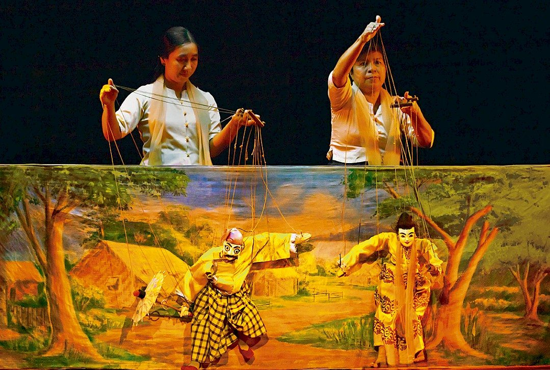 Puppets Mandalay Marionettes Theatre
