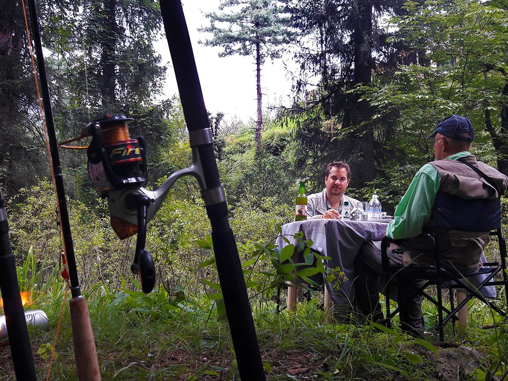 Catch your fish and eat it too, at angling expeditions in Himachal Pradesh. Photo courtesy Jibhi Adventure