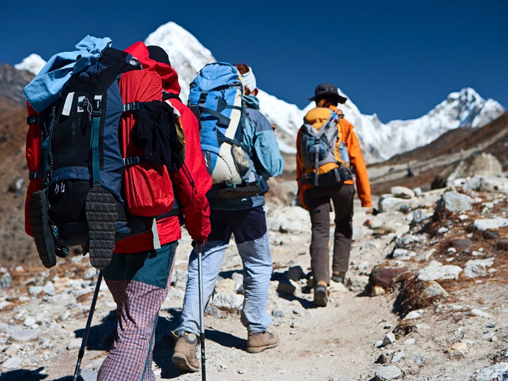 The lower reaches of the Himalayas are ideal training ground for mountaineering enthusiasts. Photo: iStock.com/ hadynyah
