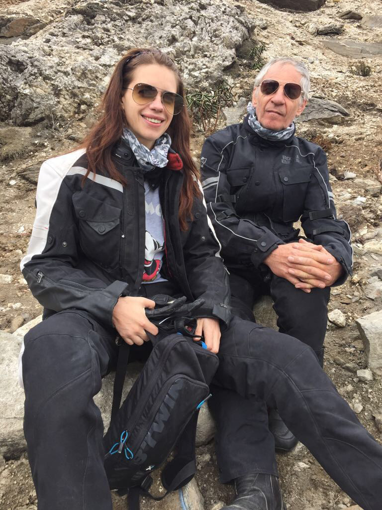 """Koechlin calls her father a """"more seasoned"""" traveller than her. """"He was the kind of traveller who just lived in places like Afghanistan and Varanasi for a year when he felt like it."""" Photo Courtesy: Kalki Koechlin"""