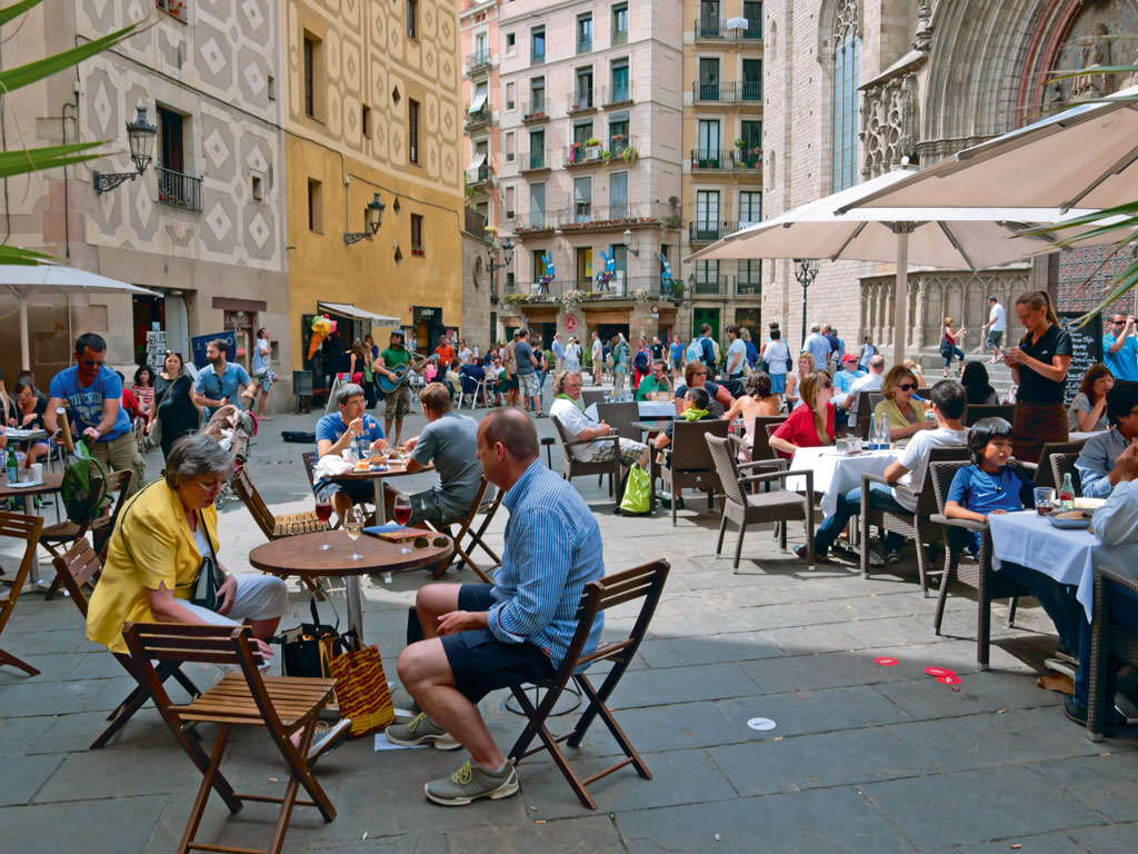 """Spain, where Koechlin shot Zindagi Na Milegi Dobara, was among the happiest countries she has been to. """"In Spain, people drink all the time and they are full of joy."""" Photo by Lenakozlova/iStock."""