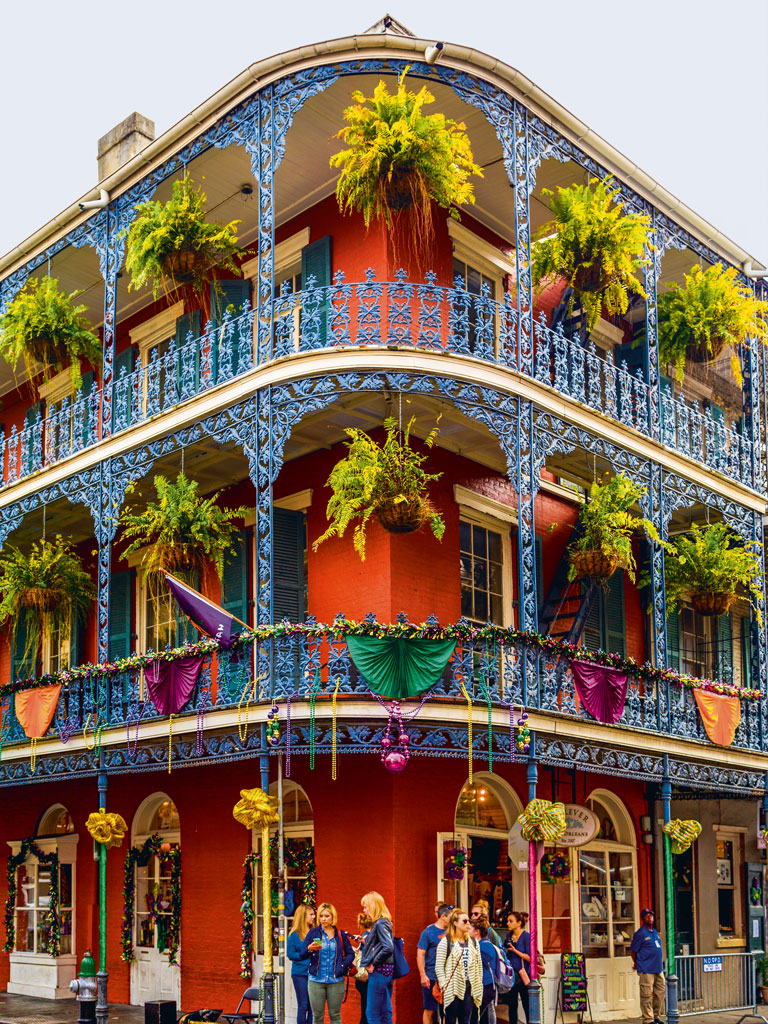 French Quarter is the heart of New Orleans' jazz scene. Photo by: GTS Productions/ Shutterstock