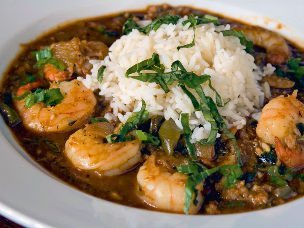 Étouffées, made of shrimp or crawfish, are a highlight of Creole cuisine. Photo by: Otokimus/istock