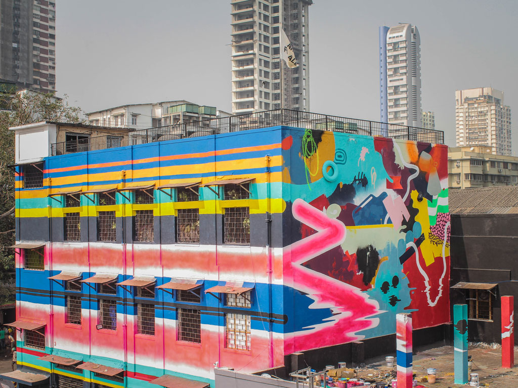 In Photos   A Street Art Project Brings Sassoon Docks Back into the Spotlight