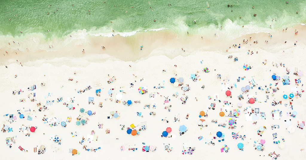 """Shoreline Study"" in the Hamptons, New York from the ""Up In The Air"" series. Photo: Antoine Rose"