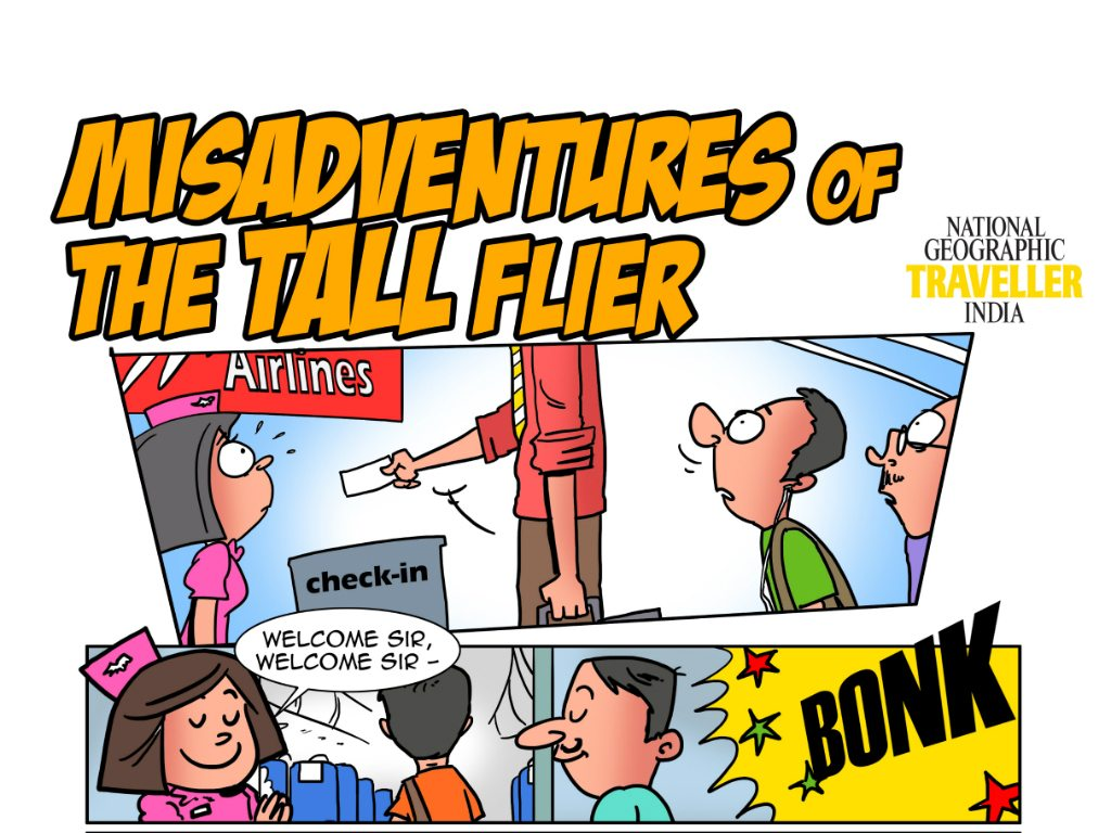 Travel Humour: The Misadventures Of The Tall Flier
