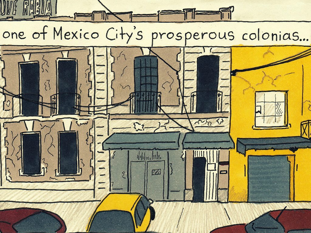 Mexico City Illustration