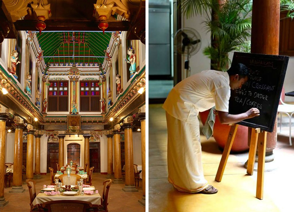 heritage hotels in Tamil Nadu and Pondicherry