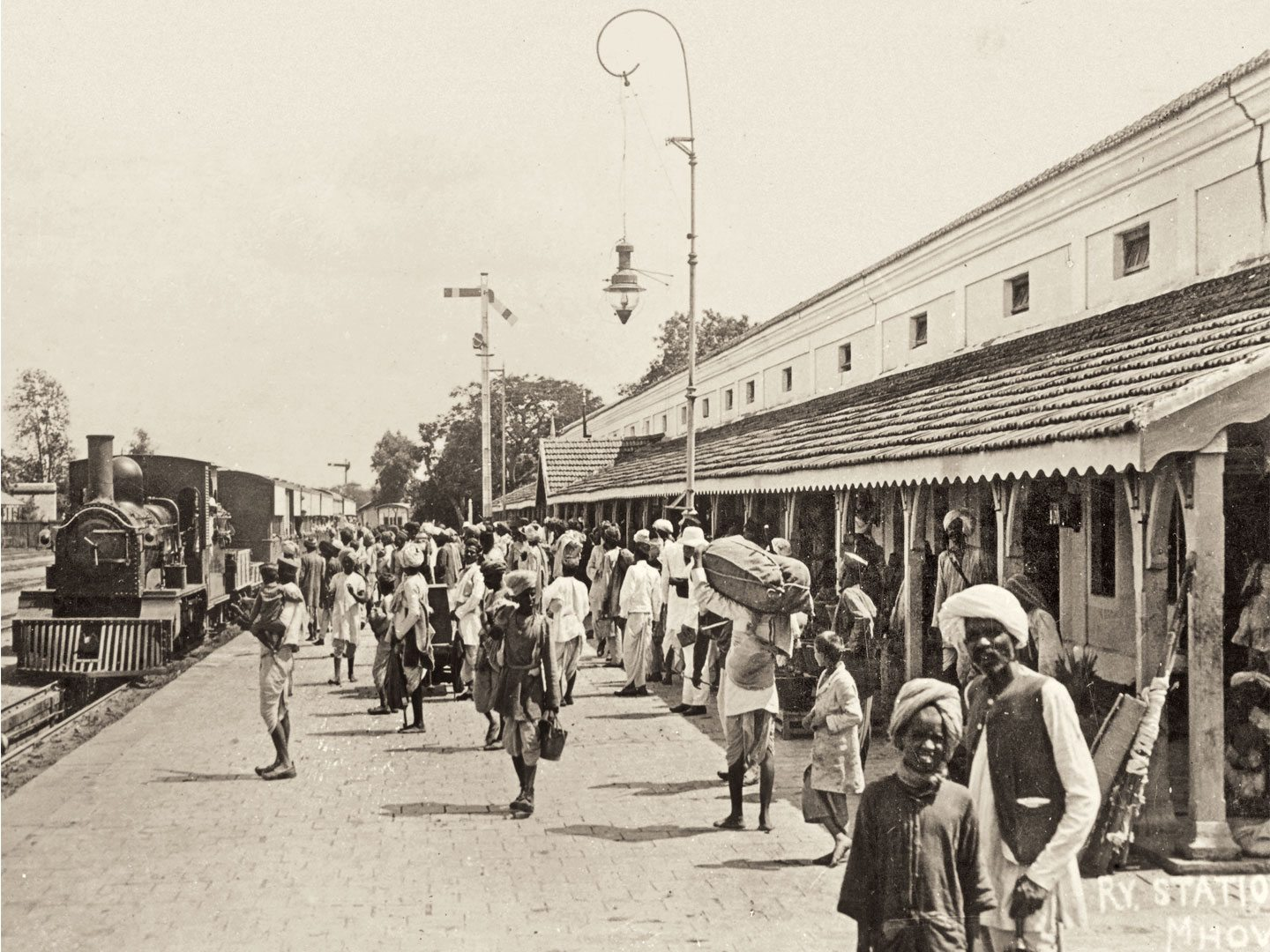 Four generations of the writer's family lived and worked along the Great Indian Peninsula Railway, which was the predecessor of today's Central Railway. Photo: Mary/Indiapicture