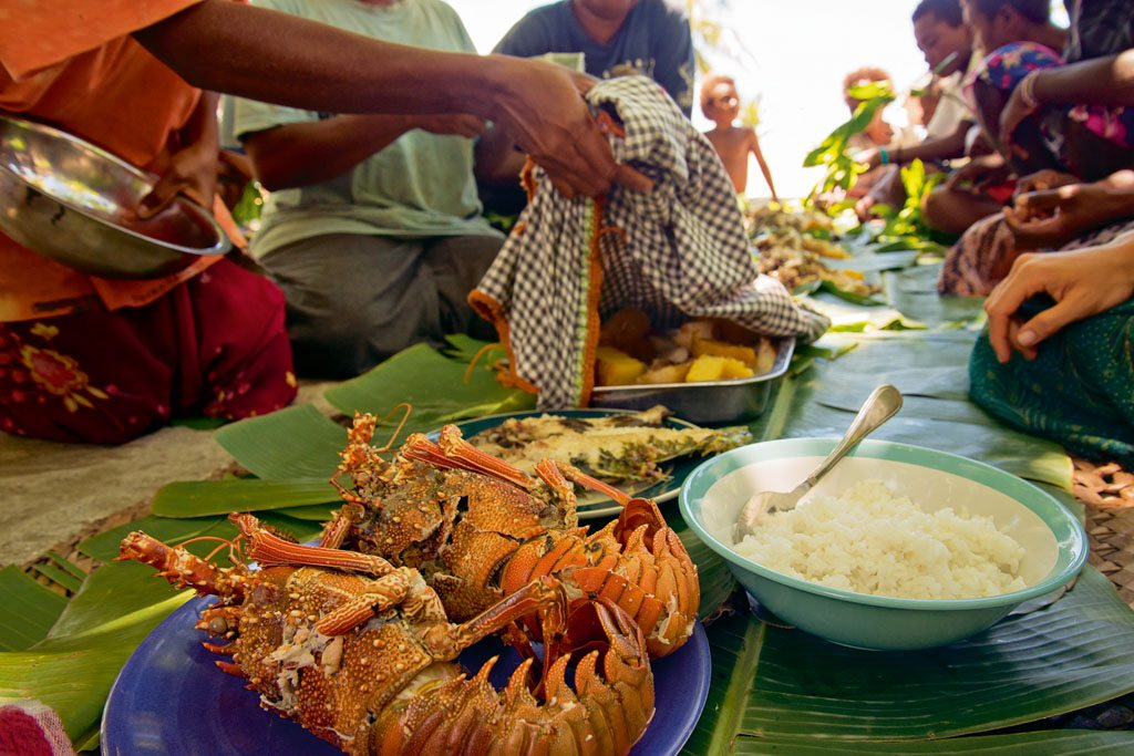 Solomon Islands Pacific Ocean Food