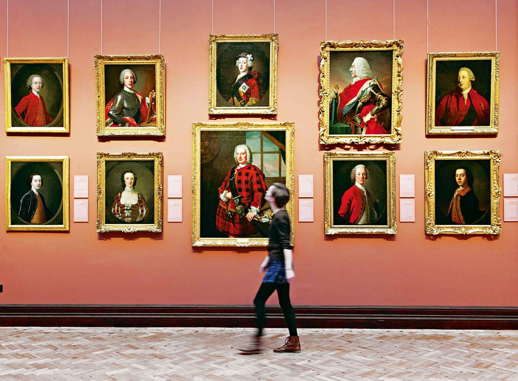 National Portrait Gallery Edinburgh Scotland