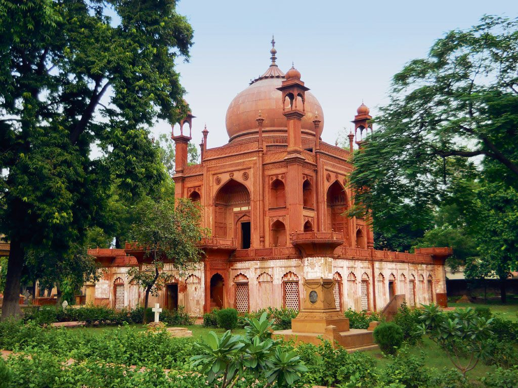 John Hessing's Tomb, Agra. Photo: Patrick Rogers