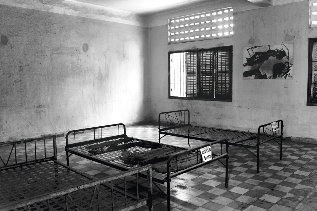 Cambodia Tuol Sleng Genocide Museum