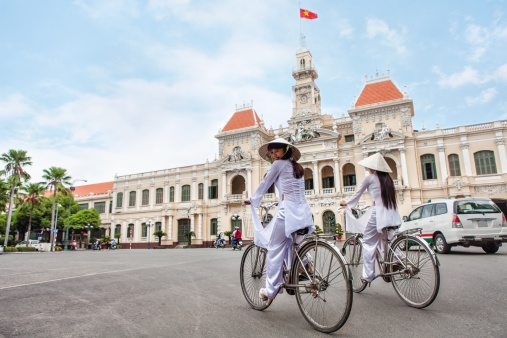 EXPERIENCES NGT Guide: 9 Of The World's Best Backpacking Destinations For 2016 With expert tips on how to make the most of your budget. TEXT: JULIAN SMITH POSTED ON: FEBRUARY 1, 2016 12:00 AM Vietnam Two young women riding bicycles in Ho Chi Minh City, Vietnam. Photo: Andy Le/Getty Images Two young women riding bicycles in Ho Chi Minh City, Vietnam. Photo: Andy Le/Getty Images