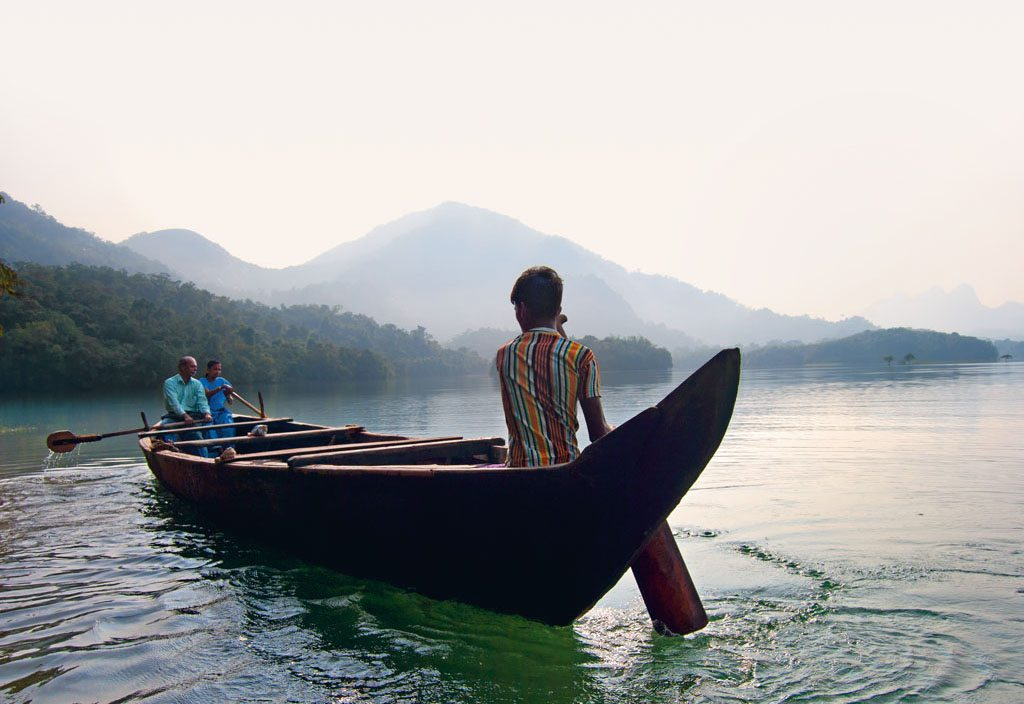 Boat ride Kerala Neyyar Wildlife Sanctuary