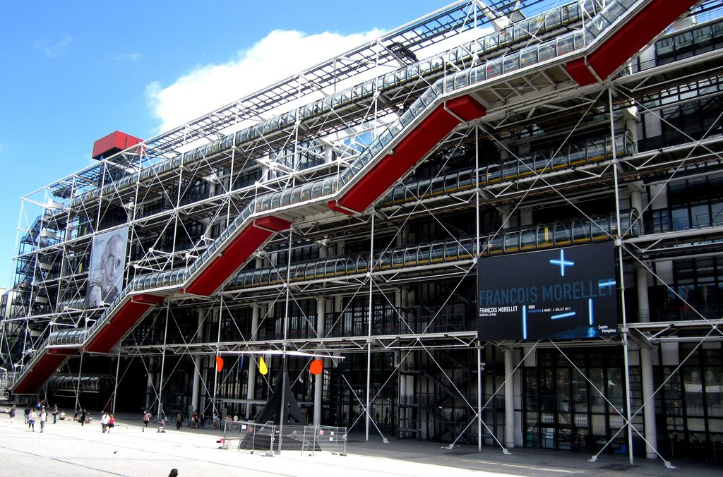 Centre Georges Pompidou France Richard Rogers Renzo Piano