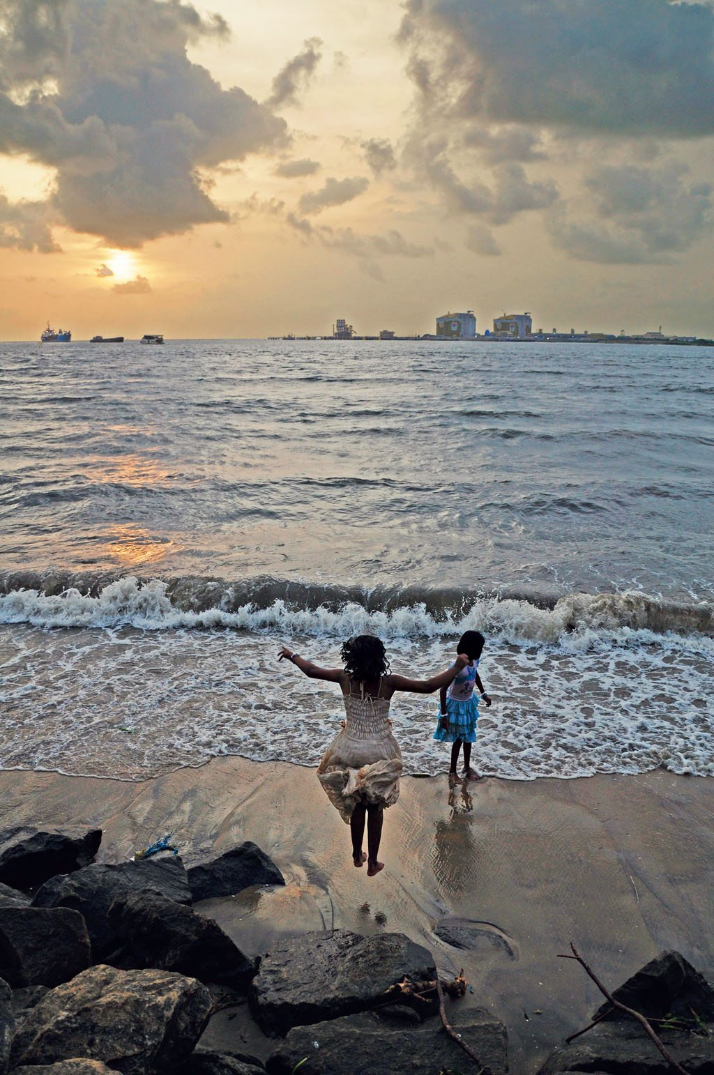 Children Beach Fort Kochi Kerala