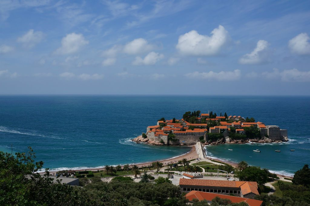 Sveti Stefan is a small islet in Montenegro. Photo: Mr Hicks46/Flickr/Creative Commons (http://bit.ly/1jxQJMa)