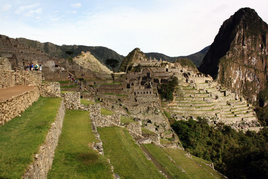 Machu Picchu, located in the Peruvian Andes, covers 32,592 hectares of mountain slopes, peaks and valleys. Photo: Pablo Silveira de Noronha Ribeiro/Flickr/Creative Commons (http://bit.ly/1jxQJMa)