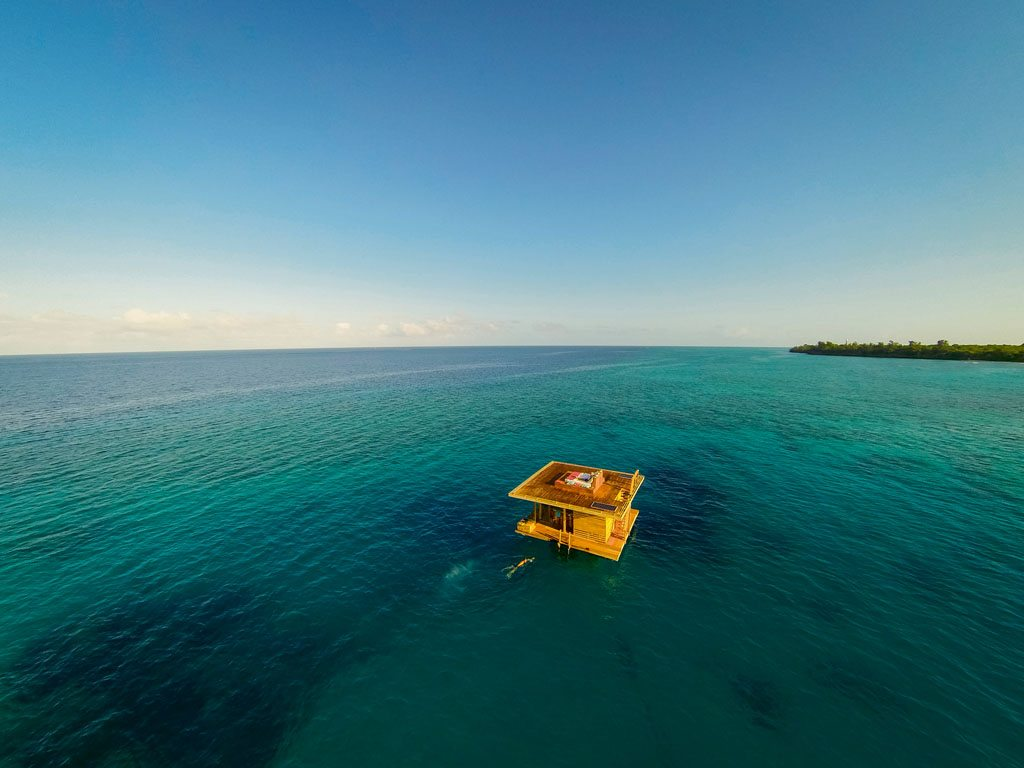 Manta Resort Underwater Hotel Tanzania
