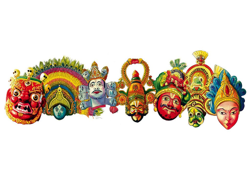 Traditions Masks india