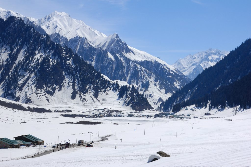 Sonamarg Mountains