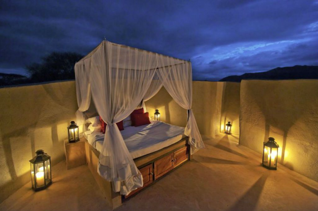 The resort is designed to merge outdoor and indoor living, through a set of unique suites and villas. Photo: Beverly Joubert/ol Donyo Lodge Kenya