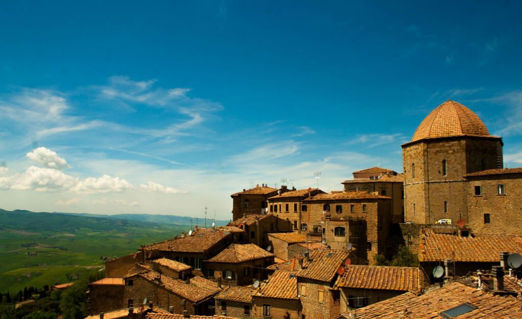 The Tuscan town of Volterra is home to many well-preserved ancient Italian ruins. Photo: Polina F/Flickr/Creative Commons (http://bit.ly/1jxQJMa)