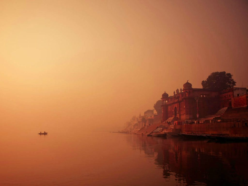 mornings in Varanasi