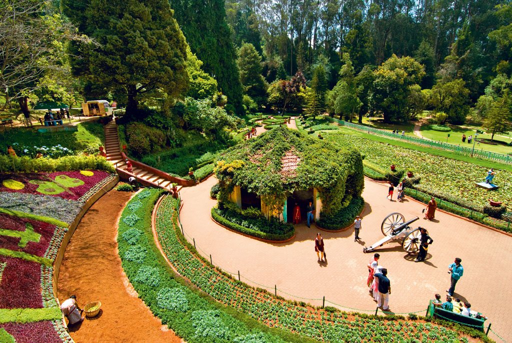 Image result for When sham rules Ooty's flower show, The Government Botanical Garden in Ooty recently