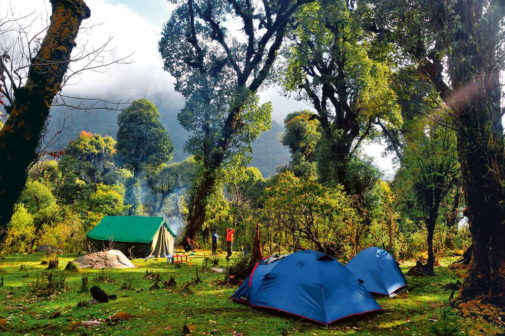 Camping Sikkim