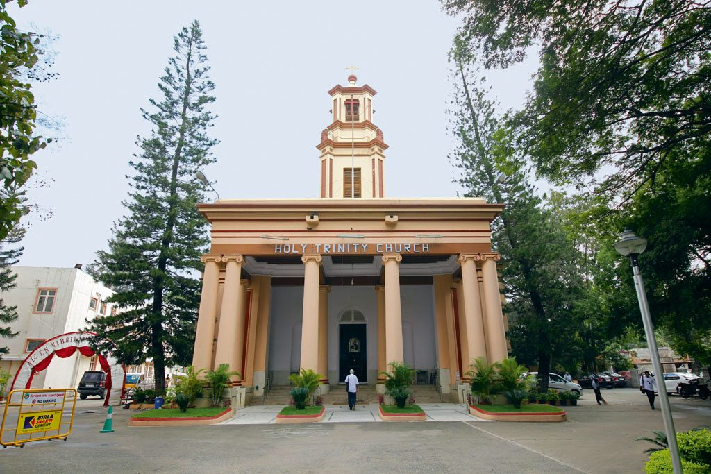 Banglore Holy Trinity Church M.G. Road