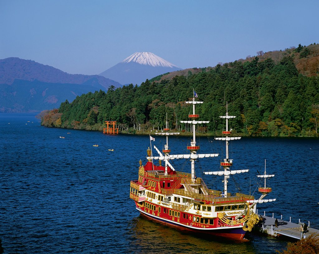 Japan Lake Ashi Ship