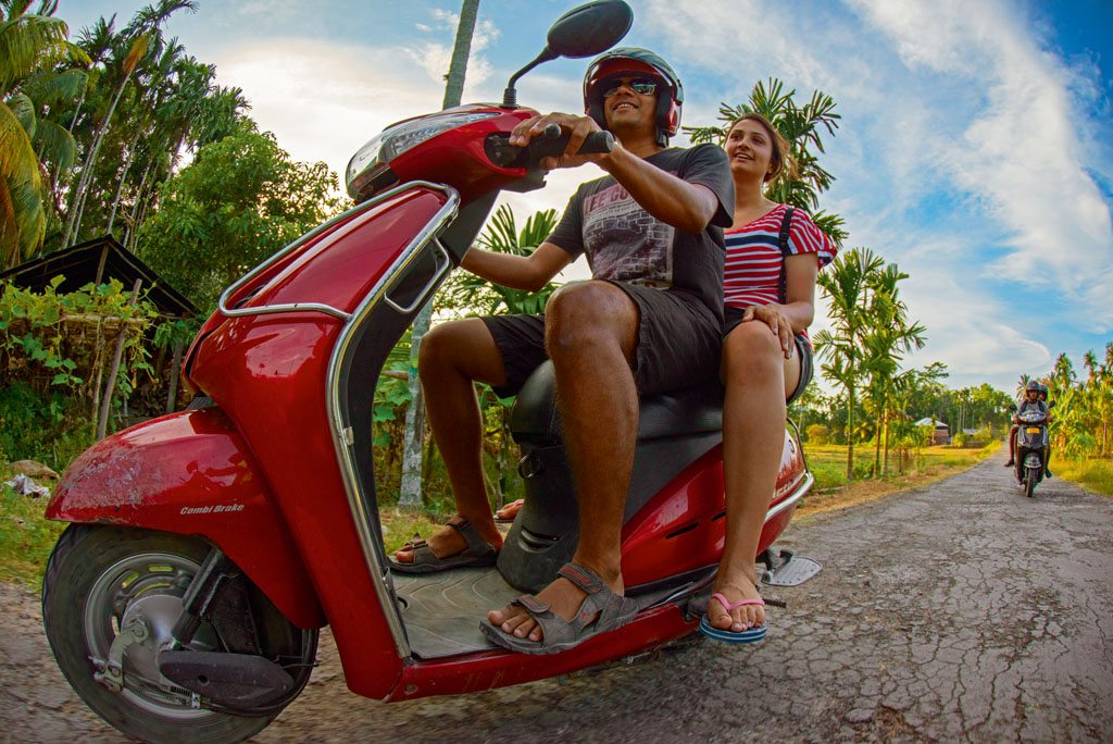 Scooter Havelock Andamans