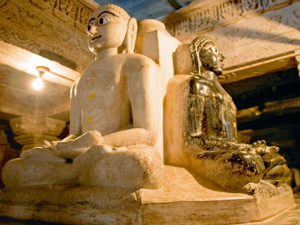 Delwara Temple Udaipur Mahavira Sculpture