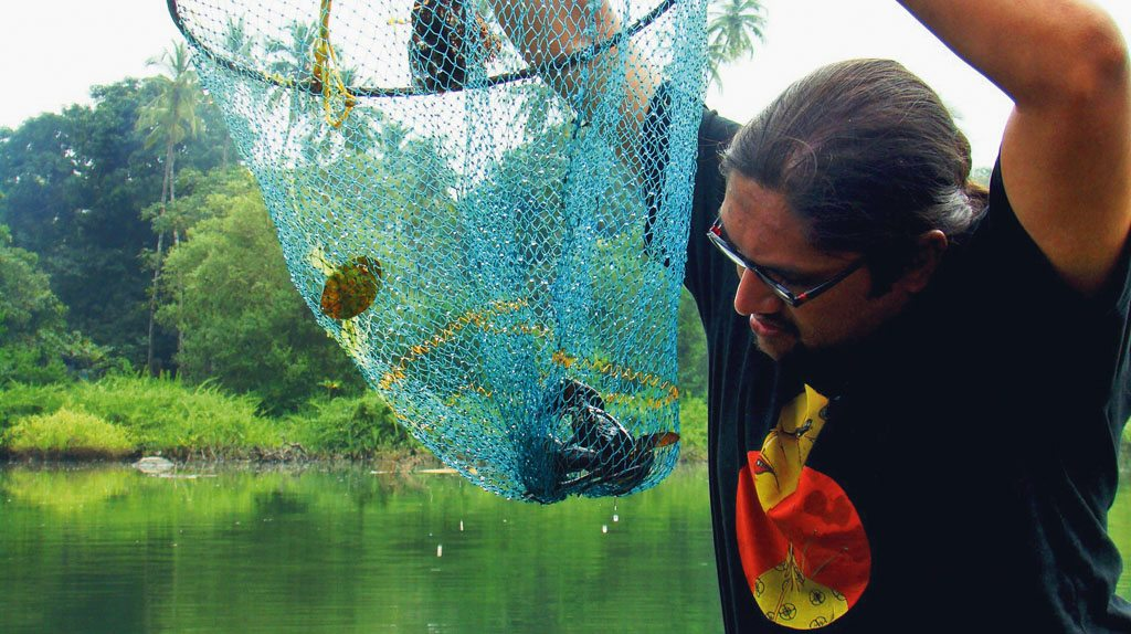 Crabs Goa River Fishing net