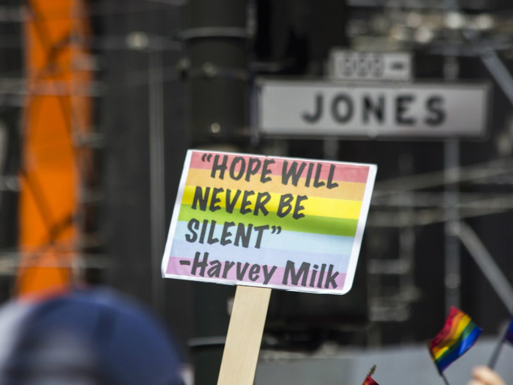 LGBT rights protest