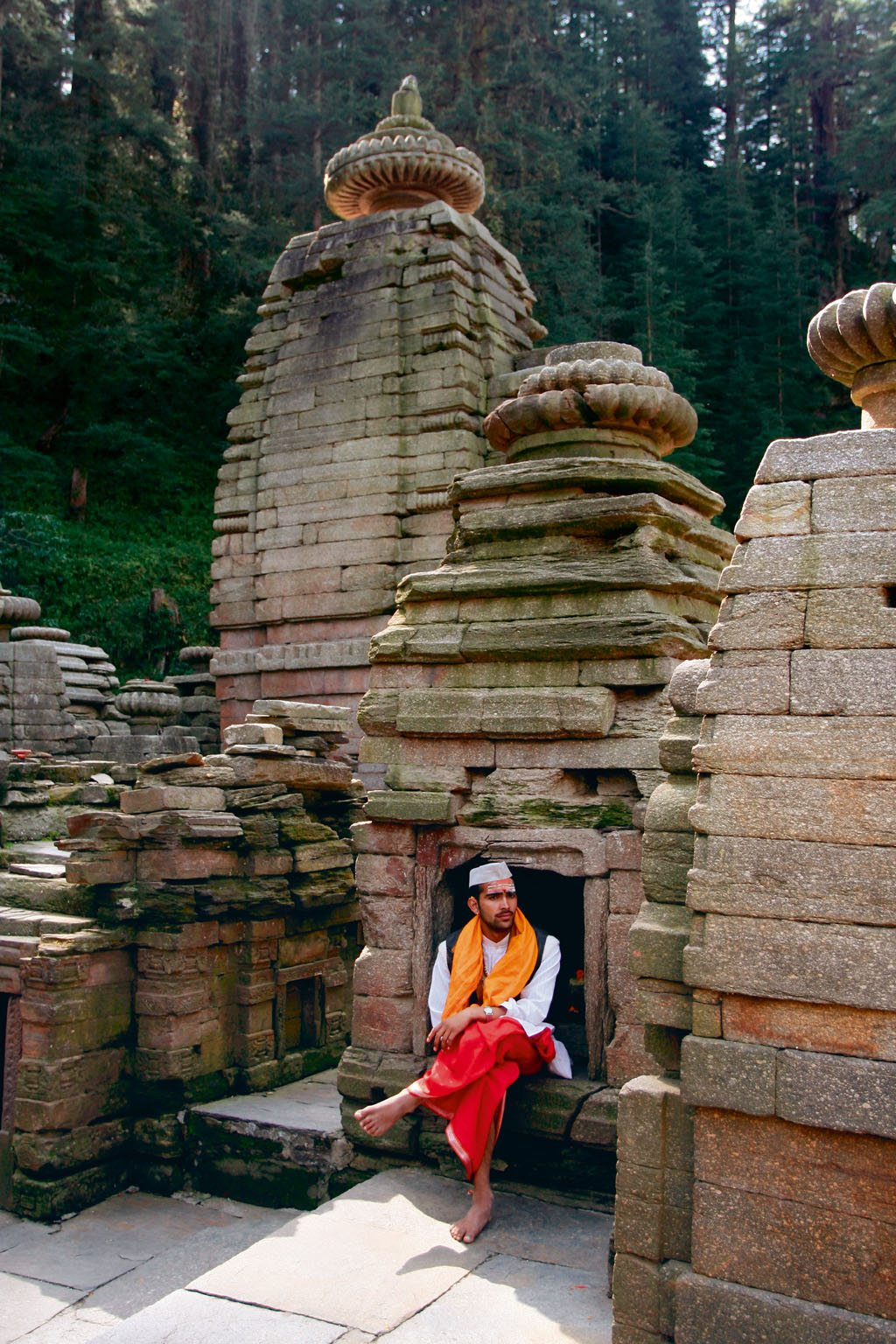 Jageshwar stone temples