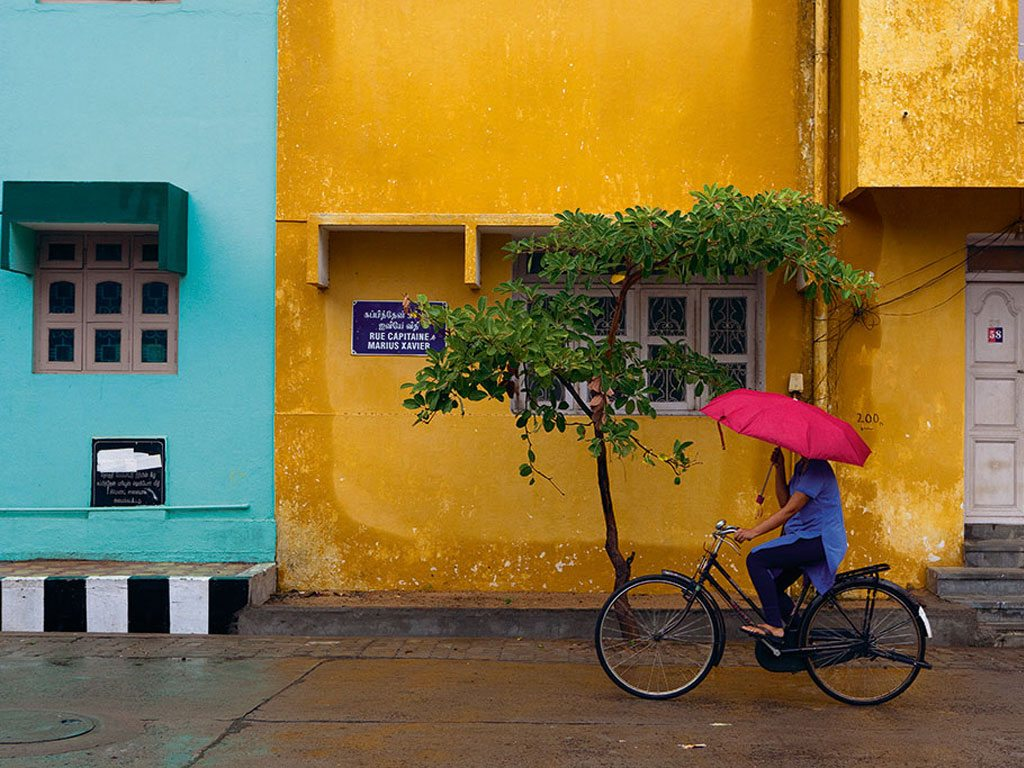 cyclist Pondicherry
