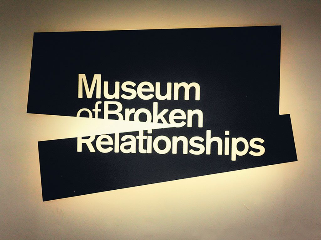 Exhibits at Zagreb's Museum of Broken Relationships range from the idiosyncratic to the downright bizarre. Photo: Images-Europa/ Alamy/ Indiapicture