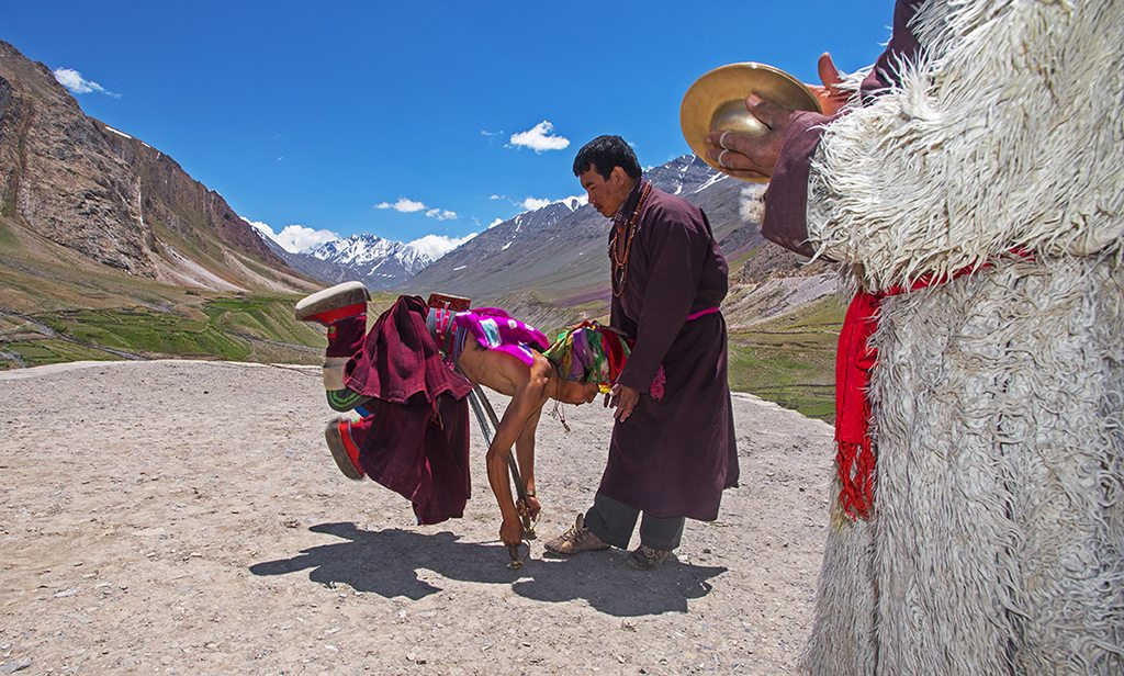 Mudh Spiti Ladakh Actors