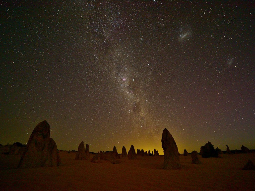 pinnacles in australia, photo by Chandramauli KS