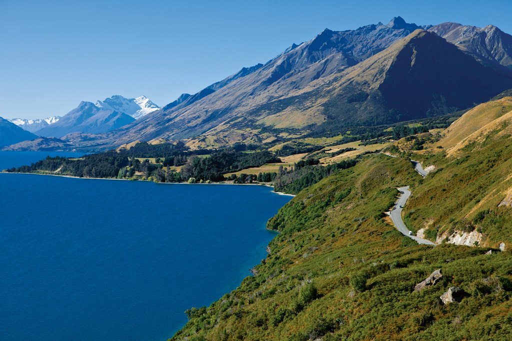 Near Queenstown, New Zealand
