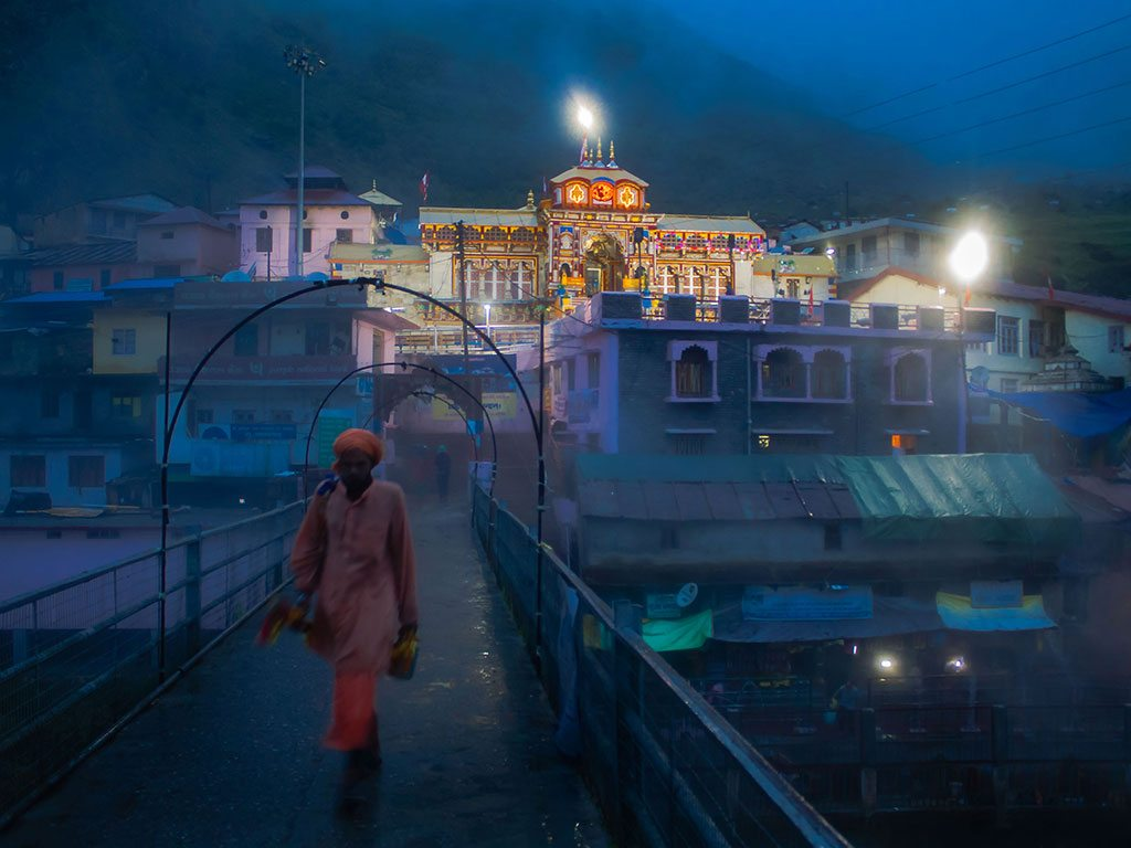 badrinath temple, photo by Ami Saha