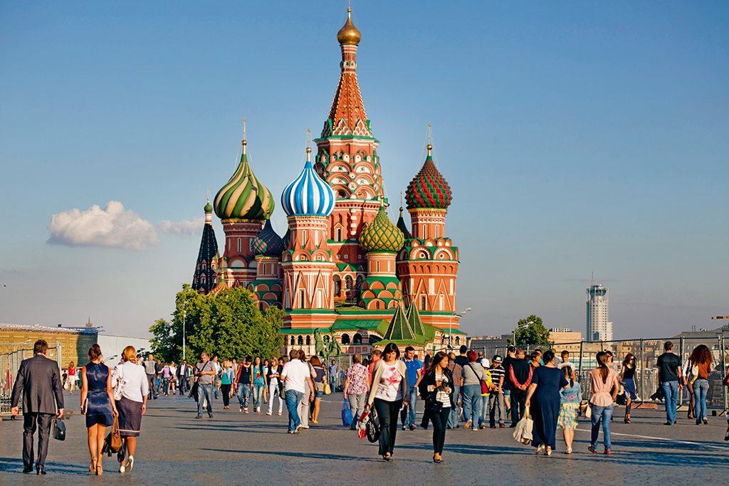 St Basil's Moscow Russia