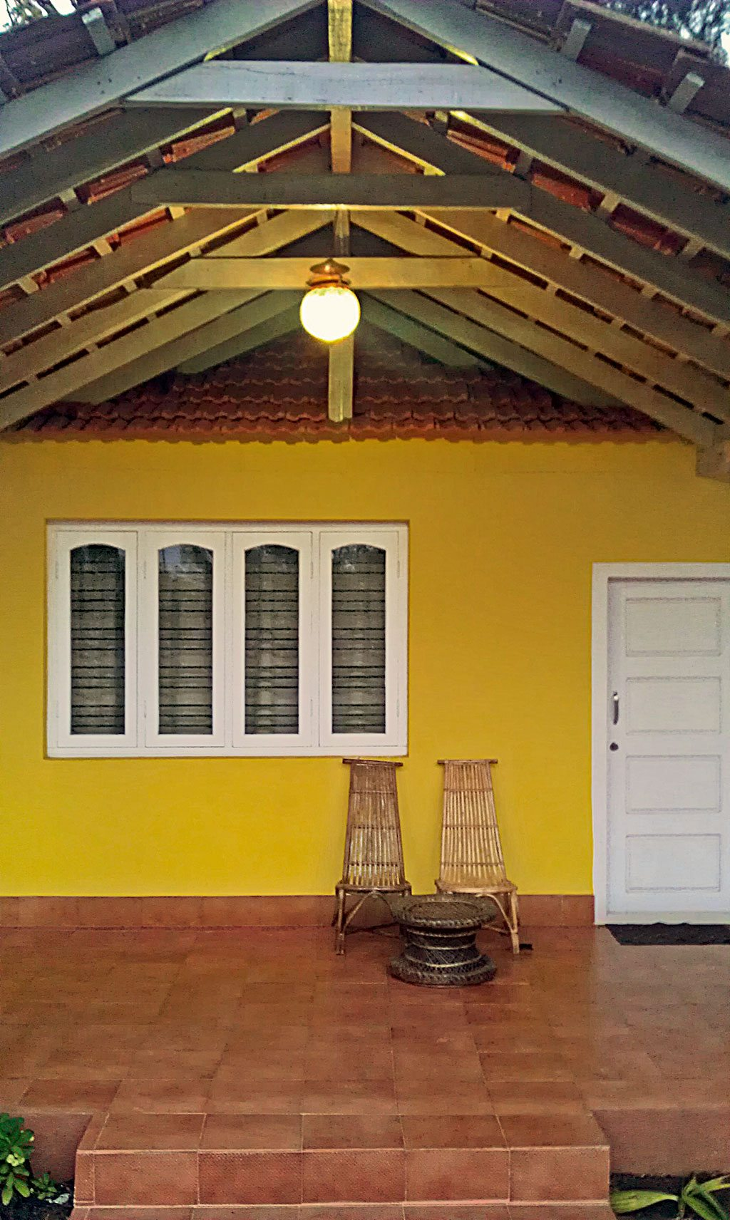 Cottages at Bananki Homestay are colourful and comfortable. Photo: Azeem Banatwalla