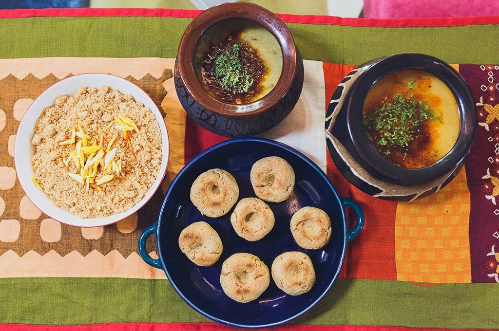 Authenticook puts the spotlight on regional Indian food. Diners can sample classics like Rajasthani speciality, dal baati, at the home of a local family. Photo courtesy Authenticook