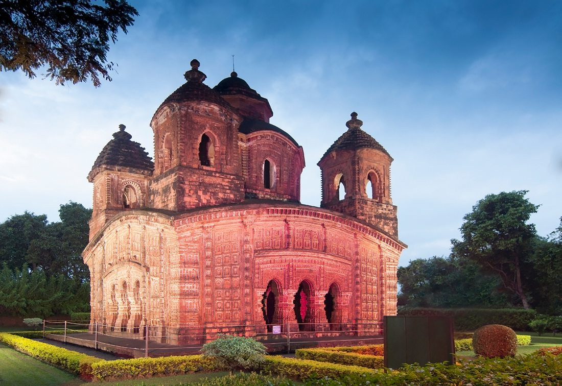 bishnupur temple, photo by iStock.com/RNMitra