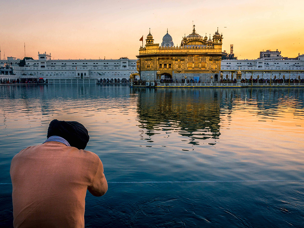 "The city of Amritsar in Punjab is named after ""amrit sarovar"", the sacred pool surrounding the Golden Temple."